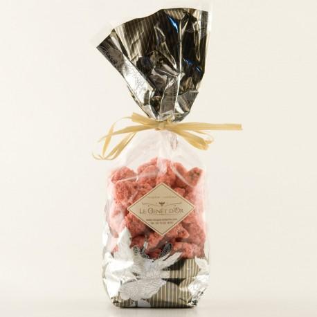 Pralines roses aux amandes - sachet de 150g