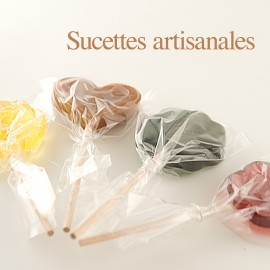 Sucettes  artisanales